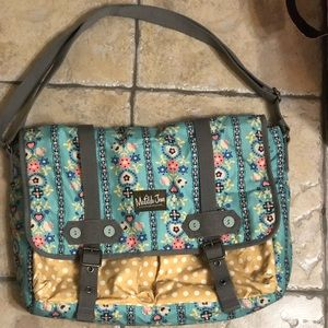 Matilda Jane Folklore Messenger Bag EUC